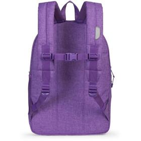 Herschel Heritage XL Backpack Kids deep lavender/silver reflective